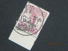 (China 四川貼用) , (巴縣. 重慶) nice cancel/postmark, Szechwan ovpt  Sc#2(lot#japan/cxl)