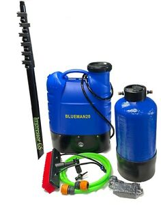 Backpack Complete Water Fed Window Cleaning System - Pure water - Ready to use