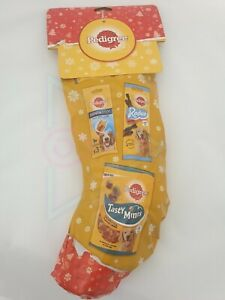 Pedigree Christmas Stocking Dog Treats Xmas Festive Gift Doggy present