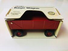 Vintage BARGE WAGON - 1988 ERTL 1:32 SCALE #1639 collectible Die cast model
