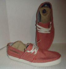 TRETORN OTTO BOAT SHOE casual sneaker sz 7.5 men's light berry eur 41