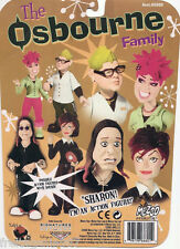 OSBOURNE FAMILY OZZY SHARON JACK KELLY 4 PVC figures 16cm by Mezco