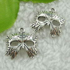 Free Ship 200 pieces tibet silver mask charms 20x20mm #1936