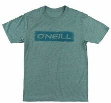 O'Neill TRANSFER Mens Cotton Blend Short Sleeve T-Shirt Size Medium Blue NEW