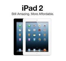 New Sealed Apple iPad 2 - 64GB - Wi-Fi+3G Apple Certified Refurbished - Black