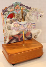 Carousel Horse CollectionMusic Box with Mirror Tune: Unchained Melody