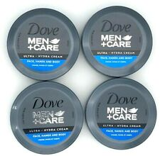 Brand New Sealed!!! Dove Men+Care Ultra Hydra Cream Face Hand&body Round 2.53 FL