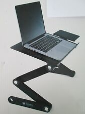 NWT Executive Office Solutions Portable Adjustable Aluminum Laptop Stand/Table