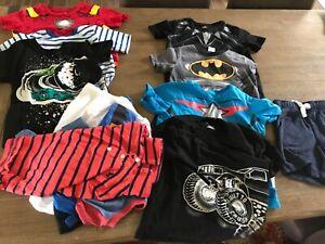 LOT 8 (Size 4) Boys T Shirts and 3  (Size 5) T Shirts EUC