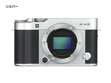 =NEW=Fujifilm X-A3 Camera Body Only (Color Silver)  =Japan Model
