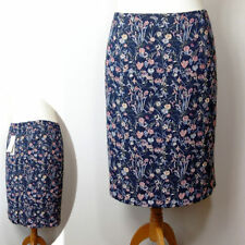 Per Una Calf Length Polyester Floral Skirts for Women