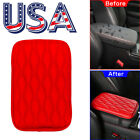 Armrest Cushion Cover Center Console Box Pad Protector Universal Car Accessories