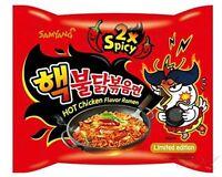 Ramen Samyang Spicy Nuclear Fire Noodle Challenge Chicken Korean Super X2