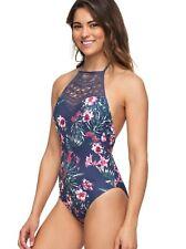 Roxy Arizona Dream One Piece Swimsuit - Women's - Medium, Crown Blue Flower BQY6