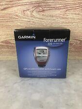 Garmin Forerunner 305 GPS Enabled Trainer w/ Heart Rate Monitor Bundle 8577