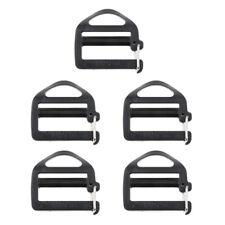 5pcs Plastic Tri-Glide Adjuster Buckle for Backpack Sports Bag Strap Webbing