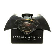 Plastic Tumbler Logo Batman V Superman Dawn of Justice Movie Cinemas Theatres