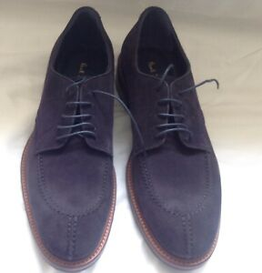 Paul Smith Shoes Andrew Dark Navy Suede Shoes. Size 8UK. RRP £325