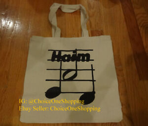 Brand New HAIM Music Band Pandora Live Tote Bag