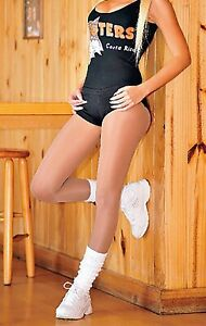 PEAVEY PANTYHOSE Hooters WingHouse NFL NBA Uniform Hosiery Sizes A B C D Q XL