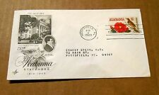 """1969! """"150th Anniversary of Alabama Statehood""""! w/(1) 6 Cent Stamp! VG Cond!+NR"""
