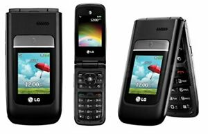 LG A380 - Black / Gray - (AT&T) Flip Phone Unlocked T-Mobile Must Read
