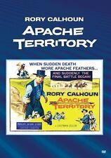 APACHE TERRITORY (1958 Rory Calhoun) - Region Free DVD - Sealed
