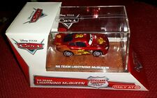 Disney Cars 2 RS TEAM LIGHTNING MCQUEEN Target limited edition display case