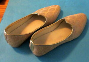 Dressy Gold-toned INDIAN WEDDING SHOES US Size 12 - worn once