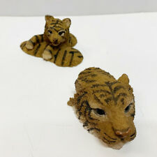 Boyds Bears & Friends Animals Collection Mama Lucy Tiger & Baby Cub Swimming