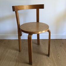 ALVAR AALTO ARTEK 68 (Style) Chaise Vintage Plywood Design Scandinave Bentwood