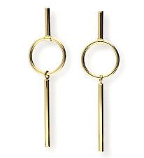 Echte 585 Gold DURCHZIEH OHRHÄNGER 585 Gelbgold 14 Karat inkl Schmucketui