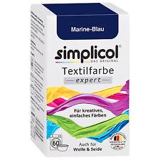 SIMPLICOL Textilfarbe EXPERT MARINE BLAU 150g Farbe auch für Wolle & Seide