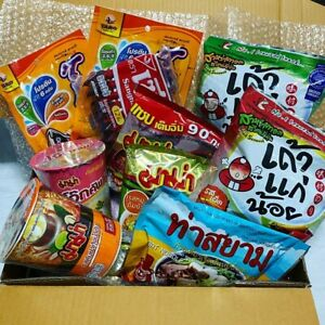 Thailand Spicy Snack Box [Instant Noodle, Fish Snack and More] Free Shipping!!!