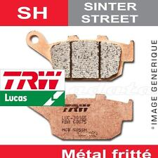 Plaquettes de frein Arrière TRW Lucas MCB 512 SH pour Honda CBR 600 F 89-90