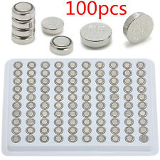 100pcs Sr626Sw Ag4 377 Lr626 Alkaline Button Cell Watch Battery Batteries 1.55V