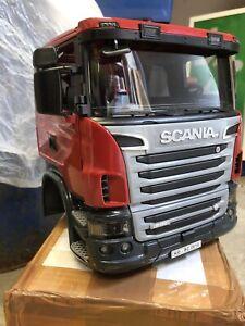 Red Bruder Scania Truck Cab