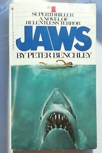Jaws Ser.: 1 Jaws by Peter Benchley (1974 paperback)