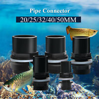 Aquarium Pipes Connectors Fish Tank Water Joint Waterproof Fitting Accessory