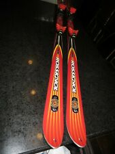 Rossignol Cut 10.4 Skis With Bindings 160cm Pristine Condition