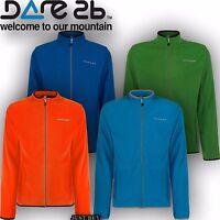 Dare2b Fleece Mens Resile Running Gym Outdoor Hiking Sport Lightweight Sweater