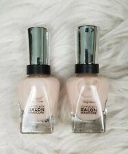 2 Sally Hansen Complete Salon Manicure #224 Icing On The Cake 14.7ml Nail Polish