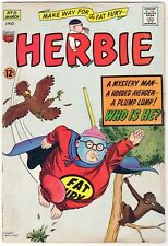 Herbie #8 (1964) ACG 1st Appearance & Origin of the Fat Fury Scans