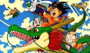Dragon Ball Goku Bulma Shenron playmat 24 x 14 TCG CCG MTG game mat rubber anime