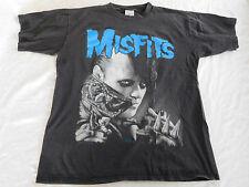Vintage Misfits T Shirt XL 1995 Double Side Graphic