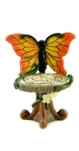 Butterfly Chair Blue or Orange MI 50880 Miniature Fairy Garden Dollhouse