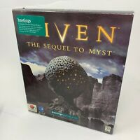Riven the Sequel to Myst Big Box PC NEW Sealed