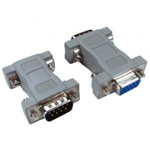 DB9 9 Pin Male to HD15 Female VGA Serial Adaptor Converter