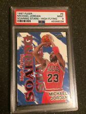 Michael Jordan 97-98 Fleer HIGH FLYING SOARING STARS #HFSS9 - PSA 9 - Upgrade