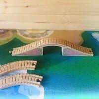 BRICK BRIDGE for Thomas & Friends Wooden Railway Train Track Fits Brio, Bigjigs